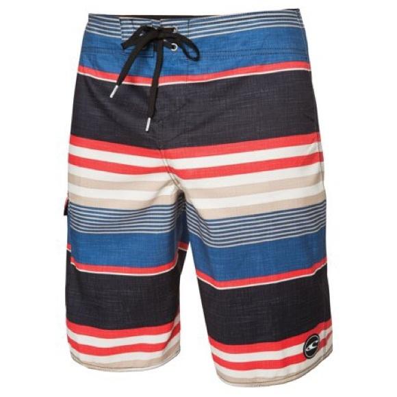 ffc46541e41fd O'Neill Swim   0neill Mens Santa Cruz Stripe Board Shorts Nwt   Poshmark